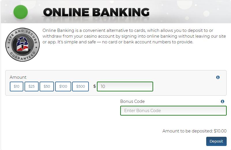 How do Online Banking (ACH) deposits work? – SugarHouse Online Casino