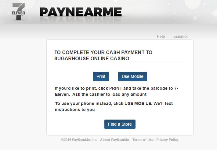 How does the Pay with Cash deposit method work? – SugarHouse
