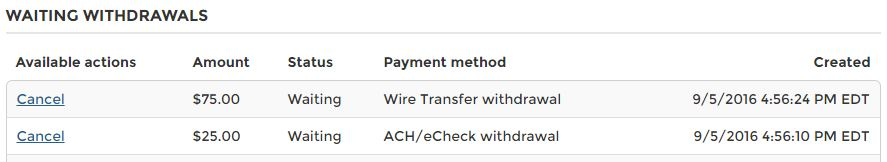 What does approved pending mean